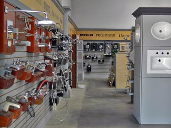 rough plumbing supply showroom Brothers Plumbing Sacramento