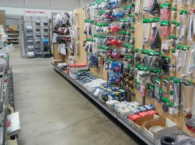 plumbing repair supply showroom Brothers Plumbing Sacramento