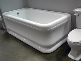 shower tub plumbing supply showroom Brothers Plumbing Sacramento
